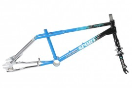 "2018 Haro 1988 Vintage Series 20"" Sport frame & fork kit BLACK/BLUE/CHROME"