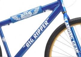SE Racing Big Ripper frame & fork decal kit METALLIC PEARL SILVER