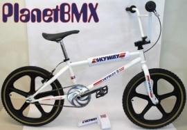 "20"" SKYWAY T/A XL RETRO BIKE PACKAGE (WHITE)"