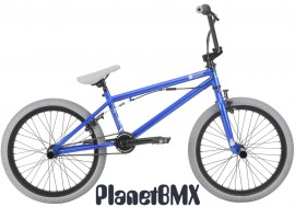 "Haro 2018 Leucadia DLX 20"" bike METALLIC BLUE (20.3""TT)"