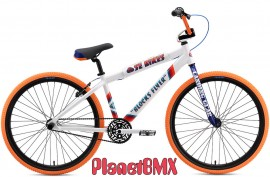 "2018 SE Racing Blocks Flyer 26"" bike WHITE"