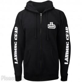 "SE Racing ""LANDING GEAR"" Zipper Hoodie Sweatshirt"