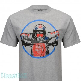 "SE Racing ""MIKE BUFF"" T-Shirt HEATHER GRAY"