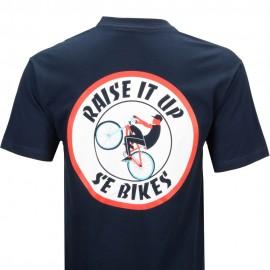 "SE Racing ""RAISE IT UP"" T-Shirt MIDNIGHT BLUE"