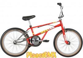"""2019 Haro 20"""" Lineage Master Freestyler Bike (20.75"""" TT) RED/CHROME"""