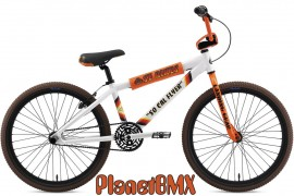 2020 SE Racing SoCal Flyer bike WHITE / ORANGE