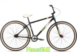 """2020 Haro Group 1 RS-1 29"""" Bike (23.5TT) BLACK / RASTA"""