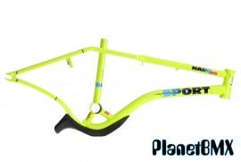 """2020 Haro 20"""" Lineage Sport Bashguard Freestyler Frame GREEN (20.5"""" TT) PRE-ORDER DEPOSIT"""