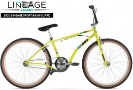 "2020 Haro 26"" Lineage Sport Bashguard Freestyler Bike (22.5"" TT) NEON GREEN- PRE ORDER DEPOSIT"