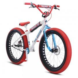 "SE Racing 2020 Mike Buff Fat Ripper 26"" Looptail bike ARCTIC WHITE"