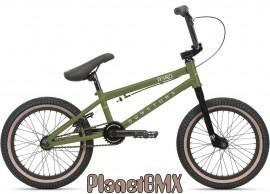 """Haro 2021 Downtown 16"""" bike MATTE ARMY GREEN"""