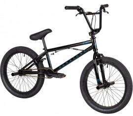 "Haro 2021 Downtown DLX 20"" bike BLACK (20.5""TT)"