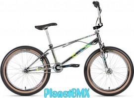 """2021 Haro 20"""" Lineage Ground Master Bike CHROME (19.5"""" TT) PRE ORDER DEPOSIT"""