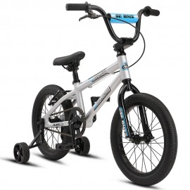 "SE Bikes 2021 Bronco 16"" bike SILVER"