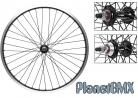 "24"" Sun Rynolite rims / Sealed Black Ops hubs BLACK"