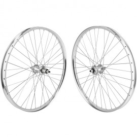 27.5+ SE Racing OM Duro Wheelset SILVER