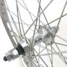 "1988 NOS 20"" Sun Levanter 7X style REAR WHEEL w/ Joytech Sealed mechanism F/W Hub SILVER"