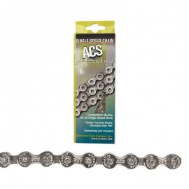 "ACS Crossfire 3/32"" chain CHROME"