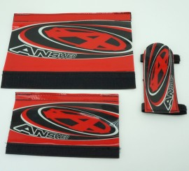 Answer BMX Padset IN COLORS (NOS Early 2000's)