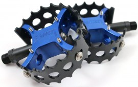 "Bassett BMX ""Full Moon"" Round Pedals IN COLORS"