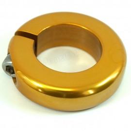 "1-1/8"" Bassett alloy seatpost clamp IN COLORS"