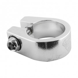 "1"" BlackOps Classic style alloy seatpost clamp BLACK or SILVER"
