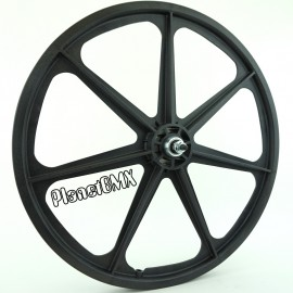 "BLACK 24"" Skyway TUFF WHEEL SET- Freewheel"