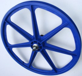 "BLUE 24"" Skyway TUFF WHEEL SET- Freewheel"