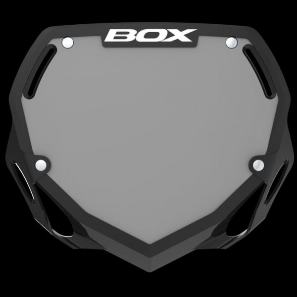 Box Number Plate Decal Planet Bmx