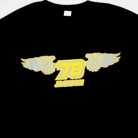 Bullseye BMX Jeff Jackson Memorial Short Sleeve Shirt BLACK