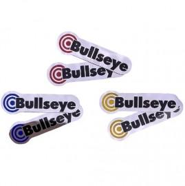Bullseye OG Hub replacement decal set CHROME Foil IN COLORS