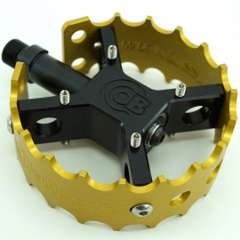 """Bullseye Pro X Round pedals- 9/16"""" IN COLORS"""