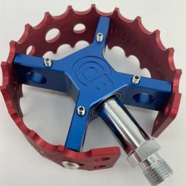 Bullseye PRO-X Round Retro Pedal Set (Custom built!)