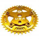 Bullseye Raceworks Pro-Drive Chainring / Spider Combo 39T GOLD