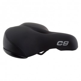 Cloud-9 Cruiser Support XL Airflow Seat BLACK
