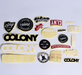 Colony BMX sticker pack