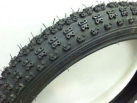 "18"" Kenda K50 Comp III 1.75"" tire set BLACK"