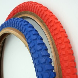"20"" Comp 2 Style Skinwall tire BLUE or RED"