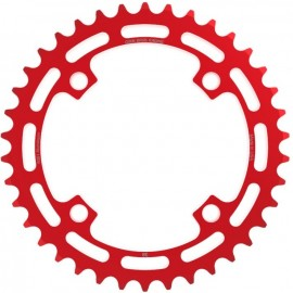 Cook Bros 4-bolt CNC Chainring RED