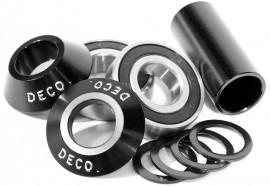 Deco Mid 22mm bottom bracket kit BLACK