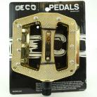 Deco Plastic PC pedals w/METAL Pins IN COLORS