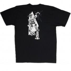"DK ""Robot"" retro t-shirt BLACK"