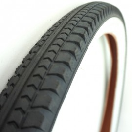"26"" Excel Cruiser 2.125"" tire BLACK w/ WHITE sidewall"