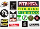 Fit Sticker 15-pack assortment