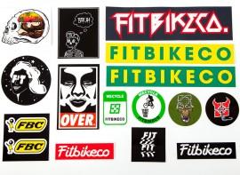 Fit Sticker 15-pack assortment