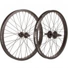 "20"" Fit 9T Cassette wheelset RHD w/ BLACK Rims & Hubs"
