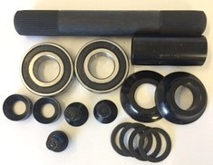 48-Spline 19mm Complete bottom bracket kit