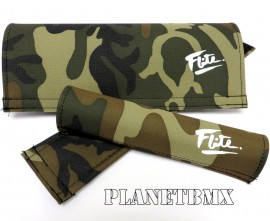 FLITE old-school Canvas pad set (80's logo) CAMO