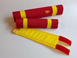 FLITE Rad! Cru Jones pad set RED / YELLOW