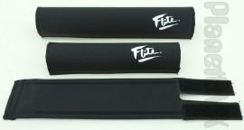 FLITE old-school pad set (80's logo) BLACK